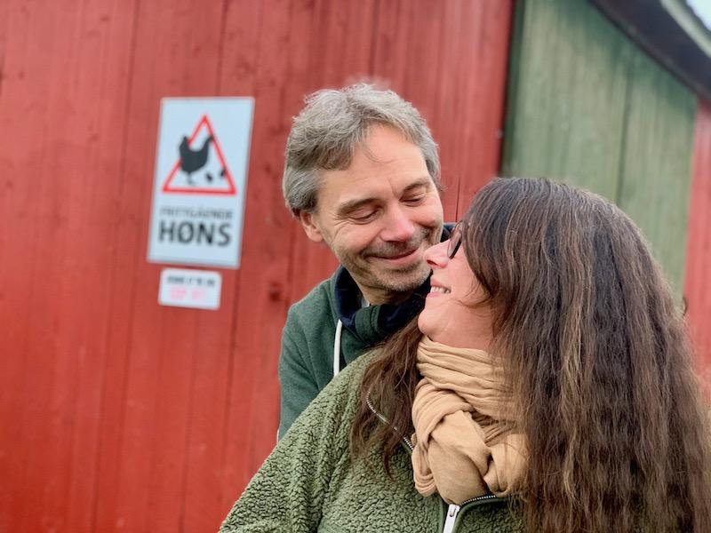 Tor Strømsnes og Hanne Merete Falck