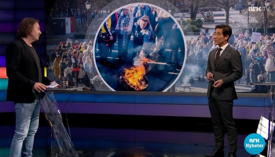 Faksimile Debatten NRK Svein Østvik